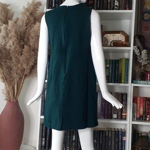 🔥3/30$  Land's End green viscose material dress